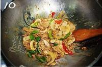 黑椒蘑菇肉片的做法圖解10