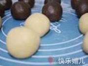 蓮蓉蛋黃月餅的做法圖解7