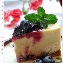 藍莓芝士蛋糕的做法