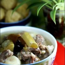 竹蔗清水羊肉湯