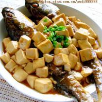 黃魚燒豆腐