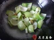 豬油渣炒青菜的做法圖解2
