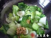 豬油渣炒青菜的做法圖解5
