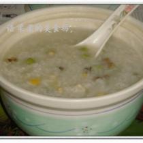 鮮香什錦鮑魚粥