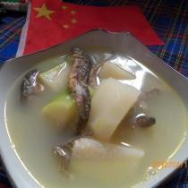 節瓜泥鰍湯