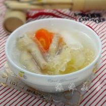 淮山銀耳雞腳湯的做法