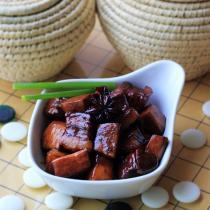 杏鮑菇紅燒肉的做法