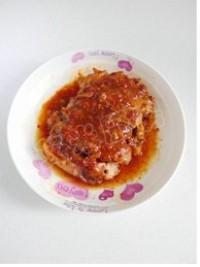 泡菜雞腿飯的做法圖解10