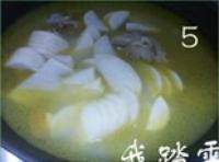 菜油蘿卜骨頭湯的做法圖解5
