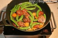 薩拉米炒鮮蔬的做法圖解7