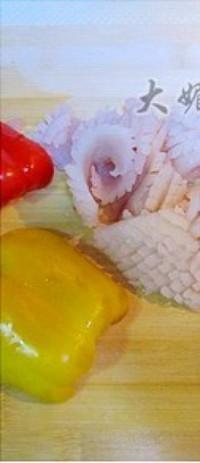清炒魷魚捲的做法圖解1