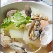 海鮮冬瓜湯