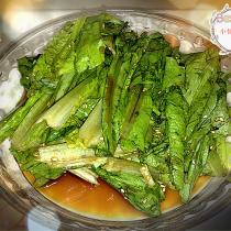 蠔油陳醋拌油麥菜