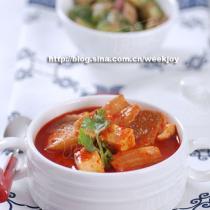 泡菜豆腐湯的做法