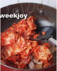 泡菜豆腐湯的做法圖解4