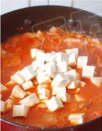 泡菜豆腐湯的做法圖解6