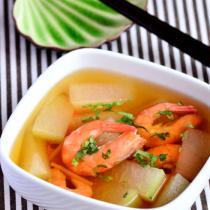 冬瓜蝦仁湯的做法