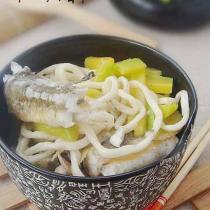 南瓜魚湯麵