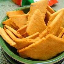 香橙薄脆餅的做法