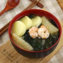 日式鮮蝦味增湯