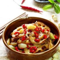 湘鄉回鍋藕的做法