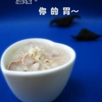 菱角薏米桂花粥