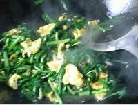 韭菜炒雞蛋的做法圖解4