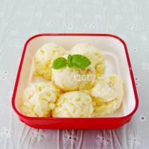 柚子茶冰淇淋的做法