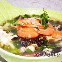紫菜海鮮湯
