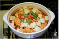 魚籽豆腐煲的做法圖解8
