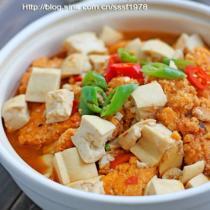 魚籽豆腐煲的做法