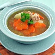 山藥胡蘿卜牛肉湯的做法