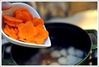 山藥胡蘿卜牛肉湯的做法圖解6