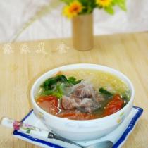 番茄牛肉粉絲湯的做法