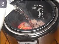 番茄牛肉粉絲湯的做法圖解3