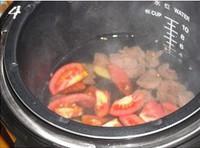番茄牛肉粉絲湯的做法圖解4