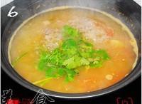 番茄牛肉粉絲湯的做法圖解6
