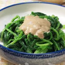 麻醬菠菜的做法