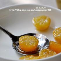 糖漬金桔的做法