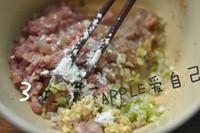 蝦仁豬肉釀豆腐的做法圖解12