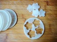 京糕蘿卜花的做法圖解2