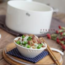 蘆筍香草烤飯的做法