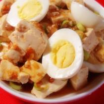 蛋拌豆腐的做法