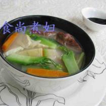 鮮蔬臘鴨湯