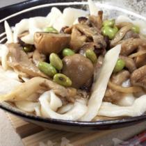 菌菇刀削麵