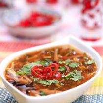 酸辣湯的做法