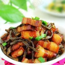 乾豆角紅燒肉的做法