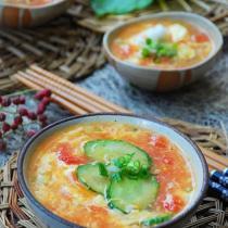 西紅柿雞蛋湯的做法