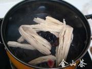 腐竹木耳拌黃瓜的做法圖解4