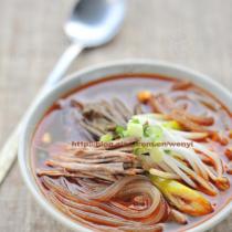 辣牛肉粉條湯